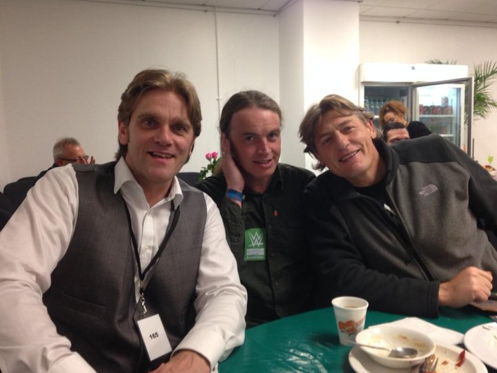 William Regal: I look like I've got a syrup on! RT @RobbyBrookside: The Horseshoe Showbar boys.